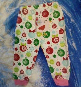 Новые штанишки, пижама, ползунки