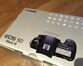 Canon 5D mark III kit 24-70 2 версии