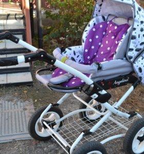 Детская коляска 2 в 1 Angelina