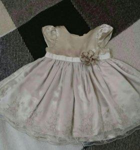 Платье, 6-9мес