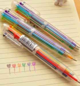 Ручка многоцветная