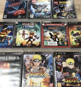 Детские игры на PS3. LEGO Batman, Naruto, Ratchet.
