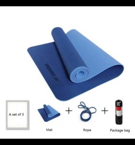 Коврик для йоги и фитнесса