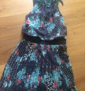Платье шифон очень красивое
