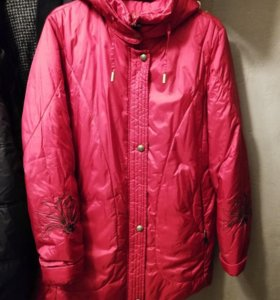 Куртка skila зимняя б/у 48-50