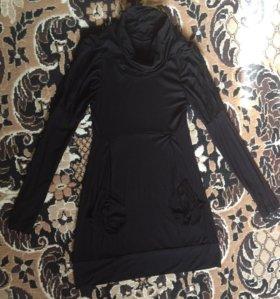 Трикотажное платье, s