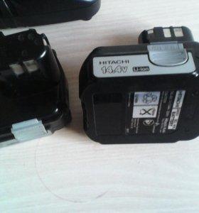 аккумуляторы hitachi и зарядное устройство