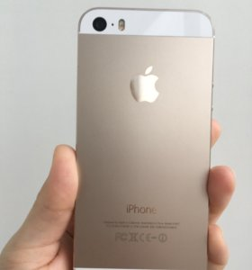 iPhone 5s Gold. Ростест. на 64 гб