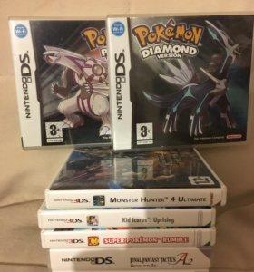 Игры 3DS и DS