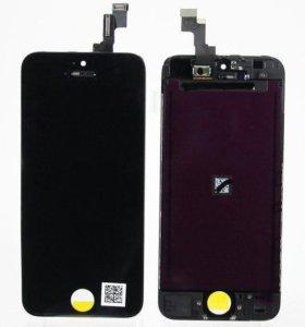 дисплей для apple iphone 5c модуль в сборе черный