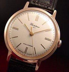 Принемаю позалоченные ручные часы