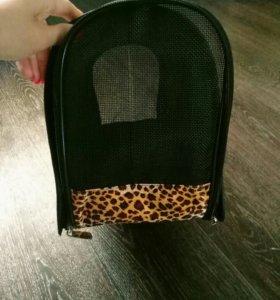 Новая сумка переноска для кошек и маленьких собак
