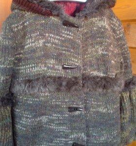 Новое Пальто шерстяное 46р