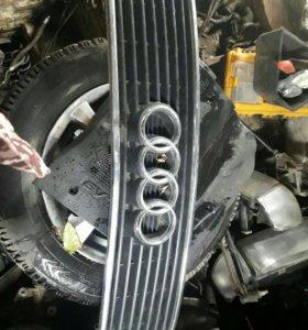 Решетка радиатора ауди 100 а6