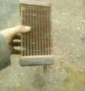 Радиатор отопление мтз