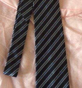 галстук мужской новый 100% шелк