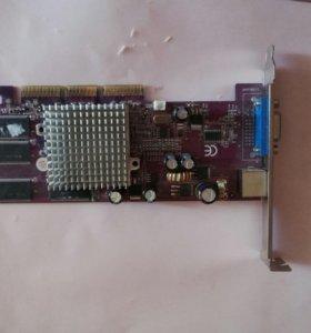 Видеокарта palit fx5200 agp 64mb