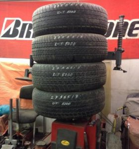 Bridgestone Durler h/t 275/65 r17