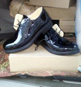 Туфли лакерованые для военнослужащих