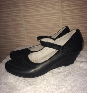 Туфли на небольшой платформе
