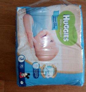 Подгузники Huggies Ultra Comfort 3 (5-9 кг)