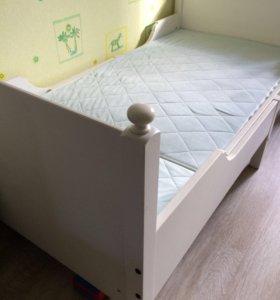 Детская раздвижная кровать (ИКЕА)