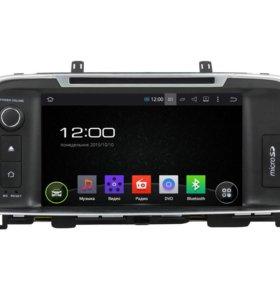 Штатная магнитола Optima (16+) Android Winca R580