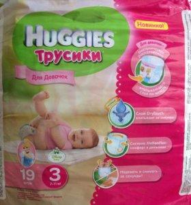 Трусики Huggies для девочек