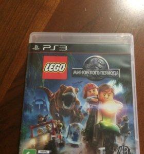 """Игра """"Lego Мир Юрского периода""""ps3"""