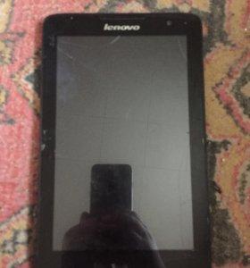 Планшет Lenovo на запчасти