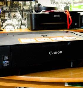 Цветной принтер Canon Pixma MP230 на запчасти