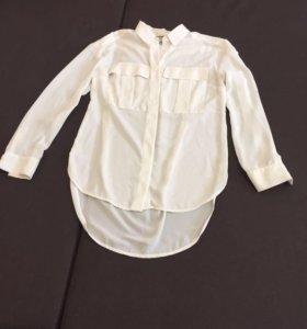 Бежевая, сложной кости блуза