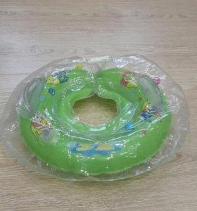 Круг для плаванья в ванной, сеточка жевалка