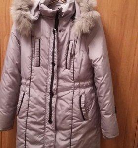 Зимний пуховик(пальто)