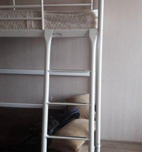кровать-чердак+матрац
