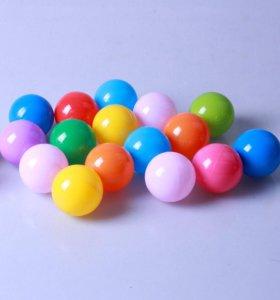 Детские шары разноцветные для сухого бассейна