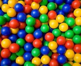 Мячи в сухой бассейн детский