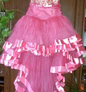 Бальное платье (на выпускной )