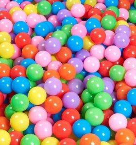 Детские пластмассовые мячи для сухого бассейна