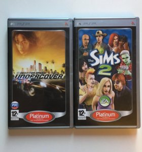 Psp диски с играми NFS, Sims 2, Avatar