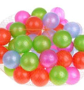 Игровые пластиковые шарики для сухого бассейна