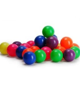 Детские пластиковые шарики для сухого бассейна