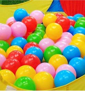 Игровые пластиковые шары для сухого бассейна