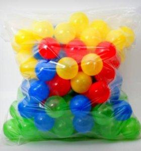 Игровые пластмассовые шары для сухого бассейна