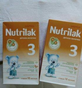 Nutrilak 3 детское молочко