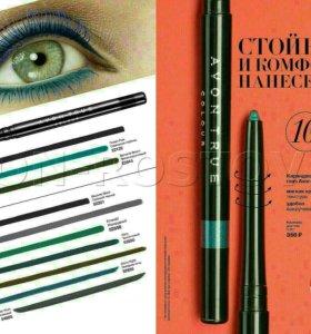 Водостойкий карандаш для глаз.