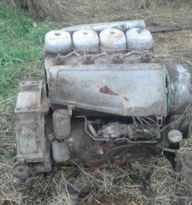 Двигатель Deutz 4 цилиндровый