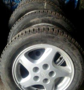 Зимние шины на литье