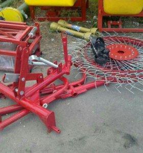 Грабли 5 колёсные , польского производителя