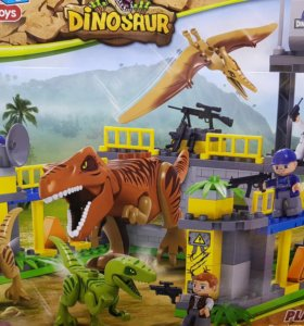 """Конструктор Лего """"Динозавры"""""""